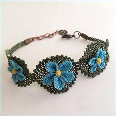 Most beautiful handwork 125 Lace Bracelet, Crochet Bracelet, Beaded Bracelets, Tatting Jewelry, Seed Bead Jewelry, Needle Lace, Bobbin Lace, Crochet Yarn, Crochet Flowers