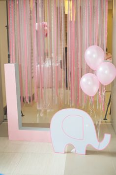 Lexie's Baby Elephant and Tutu Themed Party – Entrance