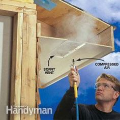 A well-ventilated attic makes for a healthier house.  Here's how to keep the air moving.