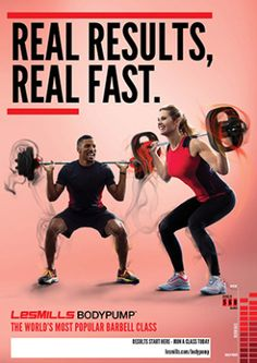 Les Mills BODYPUMP. I love this class! I've only been doing it for about 3 weeks and I already see changes in my body. It's not easy but it's so worth it!! And the class atmosphere really helps to push you beyond what you think you can do.