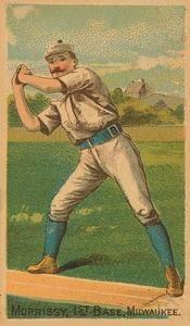 1887 Buchner Gold Coin (N284) #NNO Tom Morrissey Front