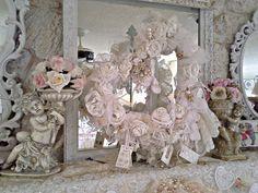 Penny's Vintage Home: Valentine Mantel