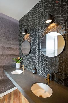 Cube Graphite Black Mos 48mm Floor and Wall Tiles | TileSpace - Tiles.co.nz