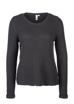 2d4a232042ef Pullover aus Strukturstrick von s.Oliver. Entdecken Sie jetzt topaktuelle  Mode für Damen,