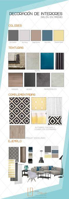 #Proyecto de #decoracióndeinteriores, decorar el salón de sus sueños, para clientes en Madrid por Ana Utrilla Info@anautrilla.com