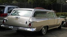 1964 Chrysler New Yorker Station Wagon 413 CI, Automatic presented as lot S15 at Monterey, CA