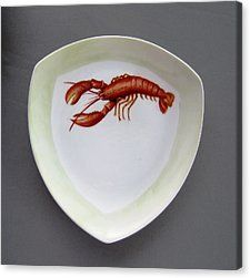 866 5 Part Of The Crab Set 866 Canvas Print by Wilma Manhardt