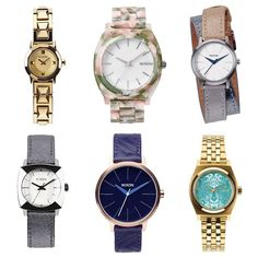 Keep your lady happy this holiday season with a new timepiece from Nixon. Our selection includes some of the best-selling Nixon models like (L to R) The Mini B ($150), The Time Teller Acetate ($125), The Kenzi Wrap ($150), The Luca ($125), The Kensington Leather ($125), or The Small Time Teller ($95). More color options and styles all available in-store and online at MODA3.com. #nixon #MODA3 #watches #streetwear