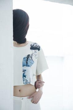 """SKETCHAROUND SS'14 collection : """" nun """" www.facebook.com/thro.sketcharound"""