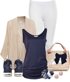 """""""Classy Chucks"""" by lilpudget ❤ liked on Polyvore"""