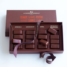 La Maison du Chocolat Coffret Tamanaco #williamssonoma