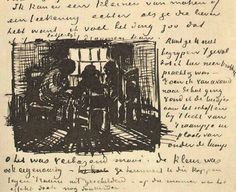 Three Persons Sitting at the Window by @artistvangogh #realism