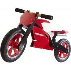Kiddimoto Superbike red white