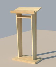 diy projects for church youth room | Church Pulpit | Do It Yourself Home Projects from Ana White Follow me on twitter @fernanmedequill