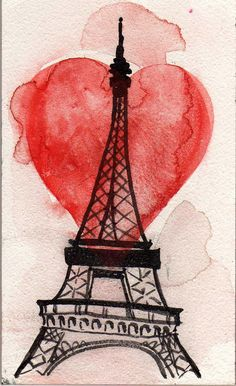 Bring the love of Christ to the City of Love (Painting Credit http://adellemarcero.blogspot.com/2010/06/paris.html)