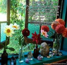 ✯ Crystal Tip: For Protecting Your Home ::•:: From Owl And Moon Crafters ✯
