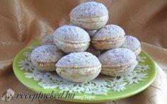 Diócska recept fotóval Pavlova, Hamburger, Muffin, Bread, Breakfast, Dios, Morning Coffee, Brot, Muffins