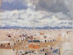 Zinaida Serebriakova - From the Moroccan cycles