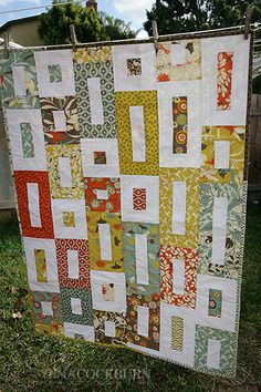 easy jelly roll lap quilt by tcockburn2002, via Flickr