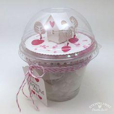 Stampin Up-Stempelherz-Hochzeit-Geschenk-Verpackung-Dombecher-Geschenkidee Hausbau-Perfekter Tag-Hochzeitsgeschenk für das Traumpaar 01