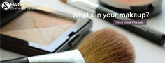 Skin deep website by the EWG. Database for cosmetics, skin and hair care, oral care, sunscreens, etc. to determine ingredients/safety. Cosmetics And Toiletries, Safe Cosmetics, Diy Beauty, Beauty Hacks, Cosmetic Database, Hygiene, Makeup Yourself, Natural Skin Care, Sunscreen