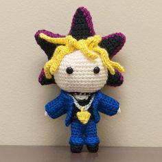 Finished! I really can't wait to see him again in the new movie   #crochet #yugioh #amigurumi #遊戯王 #crochetersofinstagram #crochetaddict #crocheting #craft #amigurumidoll #yugimuto #handmade #ハンドメイド #あみぐるみ #amigurumiaddict #crochetlove #crocheted #handcrafted #haken #amigurumis #武藤遊戯 by gallynette