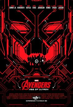 IMAX poster 3. Avengers: Age of Ultron.