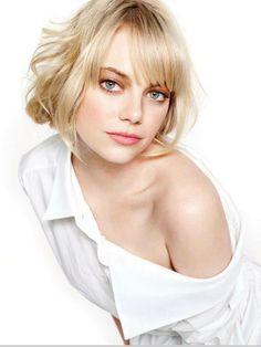 """photoshootbloger: """"Emma Stone for Glamour UK, February 2013."""