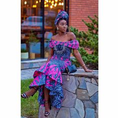 Top Ten Elegant, Super Stylish Ankara Styles Every Woman Need To Try - DabonkeFacebookTwitterPrintFacebook MessengerAddthisFacebookTwitterPrintFacebook MessengerAddthis