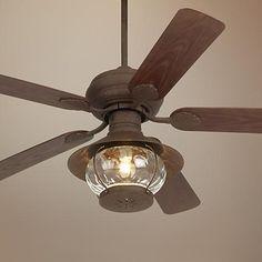 Lamps Plus: Casa Vieja Rustic Indoor/ Outdoor Ceiling Fan - Porch Ceiling, Outdoor Ceiling Fans, Outdoor Fans, House Ceiling, Ceiling Decor, Ceiling Design, Rustic Outdoor, Indoor Outdoor, Outdoor Spaces