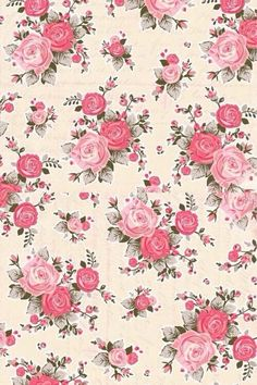 Cute floral wallpaper background flowers for nature pastel phone pink wallpapers android . cute floral wallpaper watercolor pattern with roses Pink Wallpaper Android, Trendy Wallpaper, Cute Wallpapers, Wallpapers Android, Vintage Floral Wallpapers, Shabby Chic Wallpaper, Vintage Backgrounds, Wallpaper Desktop, Wallpaper Backgrounds
