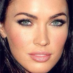 Bridesmaid makeup? And yes, I'm aware I look nothing like Megan Fox!