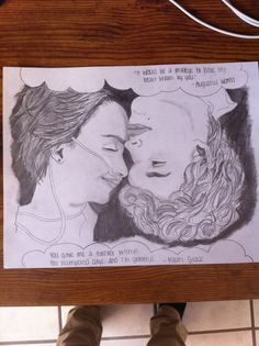 My Fault In Our Stars drawing! Please like and comment!