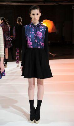 Calla Fall at New York Fashion Week 2013