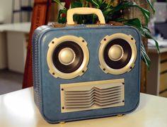 Domo Arigato - JukeCase - Custom Portable Hi-Fi. $400,00, via Etsy.