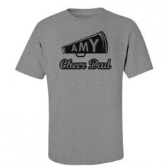 Cheer Dad Shirt Designs - Customized Girl