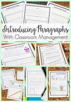 Back to School Writing-This collection of writing lessons includes some of my favorite back to school activities! I LOVE the way some many concepts are integrated!