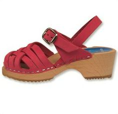 Bambi Pink Clog - Herringbone-inspired design, open-toe sandals for children. Available in three soft nubuck colors. Secured strap around ankle for support all day. Available in Children's sizes 24-34. SKU #2102003. Order here: http://store.capeclogs.com/BambiPink-4.aspx.