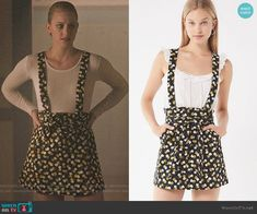 UO Ireley Corduroy Skirtall Overall worn by Betty Cooper (Lili Reinhart) on Riverdale Betty Cooper Style, Betty Cooper Aesthetic, Betty Cooper Outfits, Pll Outfits, Tv Show Outfits, Trendy Outfits, Cute Outfits, Fashion Sites, Fashion Tv