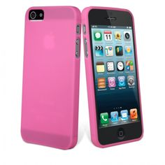 Let go pink! muvit iPhone5 ThinGel Case Pink
