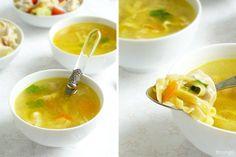 Куриный суп лапша Cantaloupe, Soups, Fruit, Ethnic Recipes, Food, Essen, Soup, Meals, Yemek