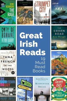 Great Irish Reads: 19 of the Best Books on Ireland Load up your reading list with these nineteen great books about Ireland. These best Irish books cover novels, contemporary classics, censored books, travel guides and Ireland travel planning resources. Best Travel Books, Literary Travel, Books About Travel, Reading Lists, Book Lists, Reading Nook, Happy Reading, Ireland Travel, Galway Ireland