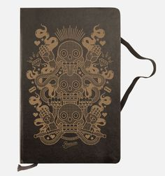 new engraved moleskine by razauno