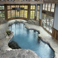 Beautiful indoor pool...