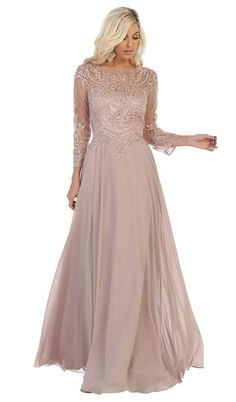 Brides Mom Dress, Mother Of Bride Outfits, Mother Of Groom Dresses, Bride Groom Dress, Mother Of The Bride Gowns, Grooms Mom Dress, Mother Bride, Mother Of The Bride Fashion, Bridesmaids And Mother Of The Bride