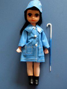 Vintage Suzie Susie Slicker Sad Eyes Doll Blythe by PixydustDolls