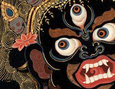 Mahakala Four Armed - Tibetan protector of Buddhism