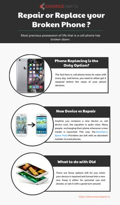 #Repair or Replace your #Broken #Phone ? Click on the image to view the high definition version. Create infographics at http://venngage.com