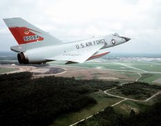 I was a weapons control systems technician (avionics) on F-106 Fighter Interceptors (Delta Darts) at KI Sawyer AFB, MI when I was first in the US Air Force. Only a couple women in the squadron back in those days and lots of cold weather and snow to deal with too. See the Red Bull image on the tail?  I was proud to be part of the 87th FIS, Red Bulls!