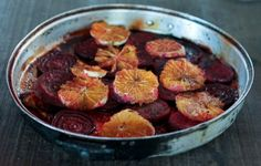 Colorful Beets and Oranges as a Seasonal Side Dish
